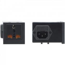 Kramer Electronics - TS-201U - Kramer TBUS-201 Power Socket - Universal - 5 A