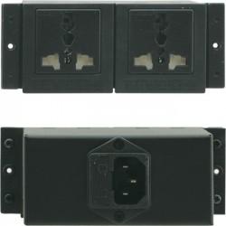 Kramer Electronics - TS-2U - Kramer TBUS Dual Power Socket - Universal - 2 x AC