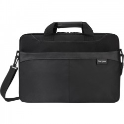 Targus - TSS898 - Targus Slipcase TSS898 Carrying Case for 15.6, Notebook - Black - Trolley Strap, Shoulder Strap, Handle - 13 Height x 16 Width x 2.1 Depth