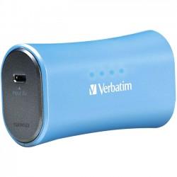 Verbatim / Smartdisk - 98359 - Verbatim Portable Power Pack, 2200mAh - Aqua Blue
