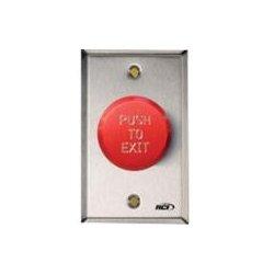 HES / Assa Abloy - 991E-PTD X 32D - RCI 991E-PTD Push Button - Red