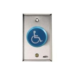HES / Assa Abloy - 991H-PTD X 32D - RCI 991H-PTD Push Button - Blue