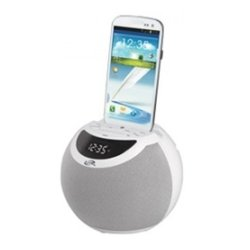 GPX - ICB103W - iLive ICB103 Portable Clock Radio - Mono - 2 x Alarm - FM - USB