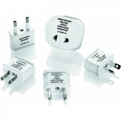 Conair - M600E - Travel Smart Polarized Adapter Plug 5pc Set - 250 V AC / 10 A, 12 A
