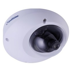 GeoVision - GV-MFD5301-1F - GeoVision GV-MFD5301-1F 5 Megapixel Network Camera - Color, Monochrome - M12-mount - 2560 x 1920 - CMOS - Cable - Fast Ethernet - USB - Dome - Ceiling Mount, Wall Mount
