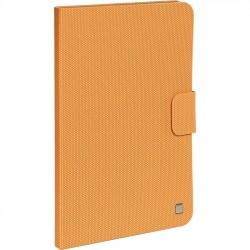 Verbatim / Smartdisk - 98412 - Verbatim Folio Hex Case for iPad Air - Tangerine Orange - Scratch Resistant Interior, Smudge Resistant Interior - Textured