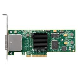 Supermicro - AOC-SAS2-9200-8E - Supermicro LSI LSI00188 8-ports SAS Controller - PCI Express x8 - Plug-in Card - 2 Total SAS Port(s) - 2 SAS Port(s) External