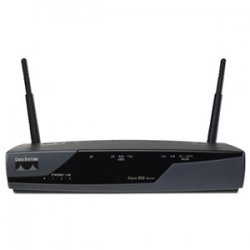 Cisco - CISCO878-K9-RF - Cisco 878 Integrated Services Router - 4 x 10/100Base-TX LAN, 1 x SHDSL WAN