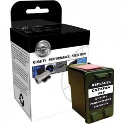 V7 - V7727A - Black Inkjet Cartridge, Black For HP DeskJet 3320, 3322, 3420, 3425, 3450, 35