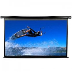 "Elite Screens - VMAX136XWS2 - Elite Screens VMAX136XWS2 VMAX2 Ceiling/Wall Mount Electric Projection Screen (136"" 1:1 Aspect Ratio) (MaxWhite) - 96"" x 96"" - Matte White - 136"" Diagonal"