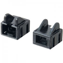 C2G (Cables To Go) - 07882 - C2G RJ45 Patch Cord Boot - Black - 25pk - Cable Boot - Black - 25 Pack