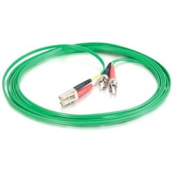 C2G (Cables To Go) - 37213 - C2G 3m LC-ST 62.5/125 OM1 Duplex Multimode PVC Fiber Optic Cable - Green - LC Male - ST Male - 9.84ft - Green