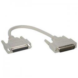 C2G (Cables To Go) - 02653 - C2G 1ft DB25 M/F Extension Cable - DB-25 Male - DB-25 Female - 1ft - Beige