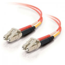 C2G (Cables To Go) - 13512 - C2G 20m LC-LC 62.5/125 OM1 Duplex Multimode PVC Fiber Optic Cable (USA-Made) - Orange - Fiber Optic for Network Device - LC Male - LC Male - 62.5/125 - Duplex Multimode - OM1 - USA-Made - 20m - Orange