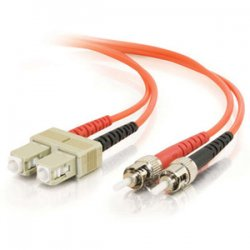C2G (Cables To Go) - 13531 - C2G 2m LC-ST 62.5/125 OM1 Duplex Multimode PVC Fiber Optic Cable (USA-Made) - Orange - Fiber Optic for Network Device - LC Male - ST Male - 62.5/125 - Duplex Multimode - OM1 - USA-Made - 2m - Orange