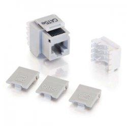 C2G (Cables To Go) - 03792 - C2G Cat5E RJ45 UTP Keystone Jack - Gray - 110-punchdown, RJ-45