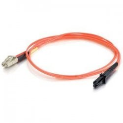 C2G (Cables To Go) - 33186 - C2G-10m LC-MTRJ 62.5/125 OM1 Duplex Multimode PVC Fiber Optic Cable - Orange - Fiber Optic for Network Device - LC Male - MTRJ Male - 62.5/125 - Duplex Multimode - OM1 - 10m - Orange