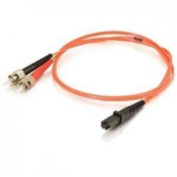 C2G (Cables To Go) - 33192 - C2G-6m MTRJ-ST 62.5/125 OM1 Duplex Multimode PVC Fiber Optic Cable - Orange - Fiber Optic for Network Device - ST Male - MTRJ Male - 62.5/125 - Duplex Multimode - OM1 - 6m - Orange