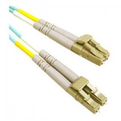 C2G (Cables To Go) - 36232 - 2m LC-LC 10Gb 50/125 OM3 Duplex Multimode Fiber Optic Cable (Plenum-Rated) - Aqua - Fiber Optic for Network Device - LC Male - LC Male - 10Gb - 50/125 - Duplex Multimode - OM3 - 10GBase-SR, 10GBase-LRM - Plenum-Rated - 2m -