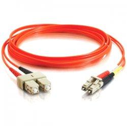 C2G (Cables To Go) - 36452 - C2G-2m LC-SC 62.5/125 OM1 Duplex Multimode PVC Fiber Optic Cable (LSZH) - Orange - Fiber Optic for Network Device - LC Male - SC Male - 62.5/125 - Duplex Multimode - OM1 - LSZH - 2m - Orange