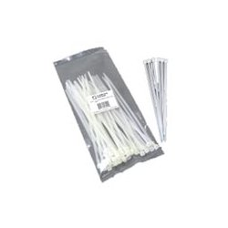 C2G (Cables To Go) - 43034 - C2G 7.5in Cable Ties - White - 100pk - Cable Tie - White - 100 Pack