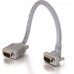 C2G (Cables To Go) - 52007 - C2G SXGA Monitor Extension Cable - HD-15 Male - HD-15 Female - 1ft - Gray