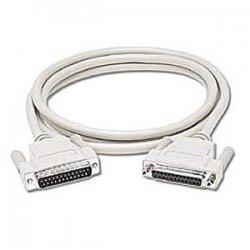 C2G (Cables To Go) - 02660 - C2G 25ft DB25 M/F Extension Cable - DB-25 Male Serial - DB-25 Female - 25ft - Beige