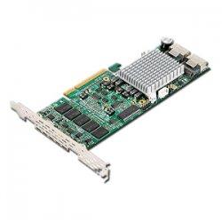 Supermicro - AOC-USASLP-H8IR - Supermicro AOC-USASLP SAS RAID Controller - PCI Express - 300MBps