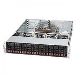Supermicro - CSE-216A-R900UB - Supermicro SC216A-R900UB Chassis - 2U - Rack-mountable - 24 Bays - 900W - Black
