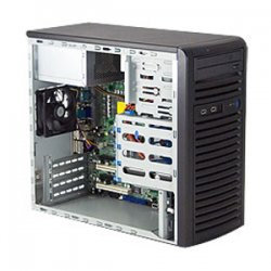 Supermicro - CSE-731I-300B - Sc731i-300b - Server Chassis - Mini Tower - Micro Atx - 2x Front Side Usb Ports