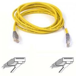 Belkin - A3X126-05-ORG - Belkin Cat5e Patch Cable - RJ-45 Male - RJ-45 Male - 5ft - Orange