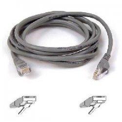 Belkin / Linksys - A3L850-05-S - Belkin FastCAT 5e Patch Cable - RJ-45 Male - RJ-45 Male - 5ft - Gray