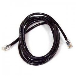 Belkin / Linksys - A3L791-08-BLK - Belkin Cat5e Patch Cable - RJ-45 Male - RJ-45 Male - 8ft - Black