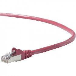 Belkin / Linksys - A3L791B14-RED-S - Belkin Cat. 5e Patch Cable - RJ-45 Male - RJ-45 Male - 14ft