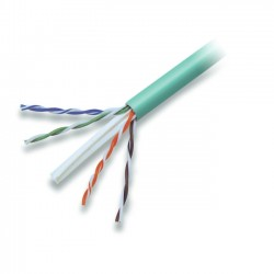 Belkin - A7L704-1000GR-P - Belkin Cat. 6 High Performance UTP Bulk Cable (Bare wire) - 1000ft - Green