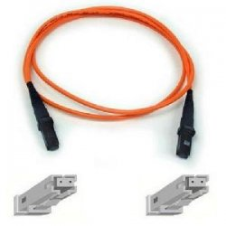 Belkin / Linksys - F2F20299-10M - Belkin Fiber Optic Duplex Patch Cable - MT-RJ Male - MT-RJ Male - 32.81ft - Orange