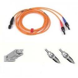 Belkin / Linksys - F2F2029010M - Belkin Fiber Optic Duplex Patch Cable - MT-RJ Male - ST Male - 32.81ft - Orange