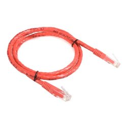 StarTech - C6PATCH3RD - StarTech.com 3 ft Red Molded Cat6 UTP Patch Cable - ETL Verified - Category 6 - 3 ft - 1 x RJ-45 Male - 1 x RJ-45 Male - Red