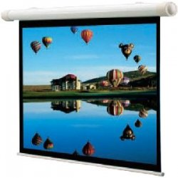 "Draper - 136007 - Draper Salara Plug & Play Electric Screen - 50"" x 67"" - Fiberglass Matt White - 84"" Diagonal"