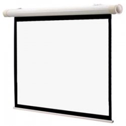 "Draper - 137053 - Draper Salara Series M Manual Wall and Ceiling Projection Screen - 52"" x 92"" - Fiberglass Matt White - 106"" Diagonal"