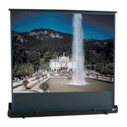 "Draper - 230006 - Draper Road Warrior Portable Projection Screen - 36"" x 64"" - Fiberglass Matt White - 73"" Diagonal"