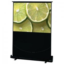 "Draper - 230120 - Draper Traveller Portable Projection Screen - 45"" x 80"" - Fiberglass Matt White - 92"" Diagonal"