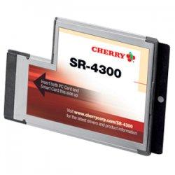 Cherry - SR4300 - Cherry SR-4300 ExpressCard Smart Card Reader - Smart Card - ExpressCard