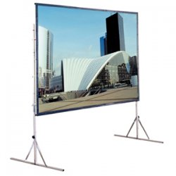 "Draper - 218030 - Draper Cinefold 218030 Replacement Surface - 72"" x 96"" - Flexible Matt White - 120"" Diagonal"