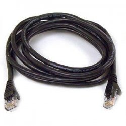 Belkin / Linksys - A3L791B07-BLK-S - Belkin Cat. 5e Patch Cable - RJ-45 Male - RJ-45 Male - 7ft
