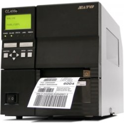 Sato - WWGL08381 - Sato GL408e Network Thermal Label Printer - Monochrome - 10 in/s Mono - 203 dpi - Serial, Parallel, USB - Wi-Fi
