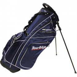 Tour Edge Golf - UBAHISB02 - Tour Edge Hot Launch 2 Carrying Case for Golf, Ball, Garment, Towel, Electronic Device, Beverage, Glove, Accessories - Navy - Water Proof Pocket - Carrying Strap, Handle