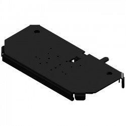 Panasonic - 7160-0498 - Gamber-Johnson Mounting Tray for Keyboard - Steel, Aluminum - Black