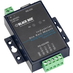 Black Box Network - ICD400A - Black Box Industrial RS-232 to RS-485/422 Converter - Rail-mountable