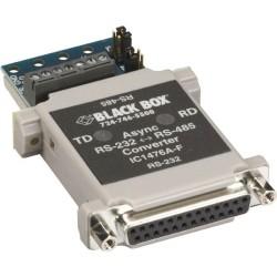 Black Box Network - IC1476A-F - Black Box RS-232 to RS-485 Converter, DB25F to Terminal Block - Serial Port